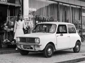 Mini Clubman from the 1970s