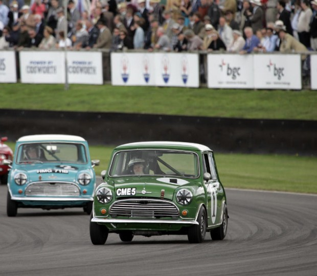 Mini Cooper at Goodwood Revival