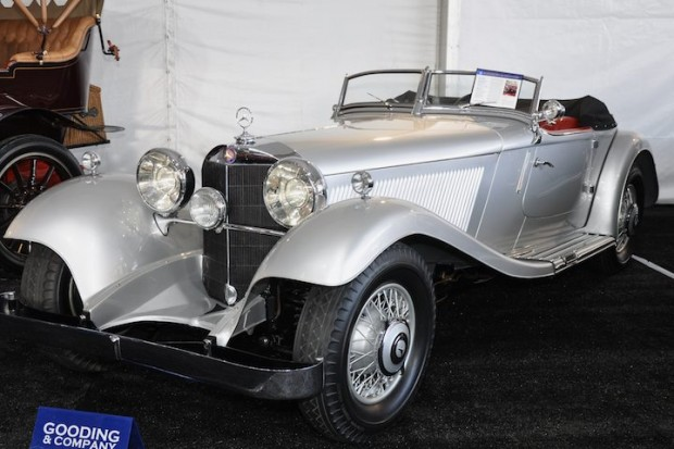 <strong>1934 Mercedes-Benz 380 Sport Roadster – Sold for $1,078,000 versus pre-sale estimate of $1,200,000 - $1,700,000.</strong>