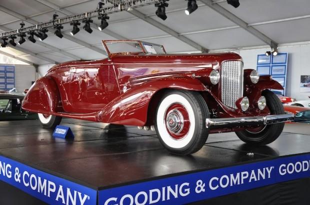 1935 Duesenberg SJ Roadster – Sold for $3,300,000
