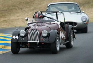 1964 Morgan 4/4 Damian Friary and 1964 Jaguar E-Type Jason Len