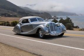 1937 Horch 853 Voll & Ruhrbeck Sport Cabriolet on Pebble Beach Tour