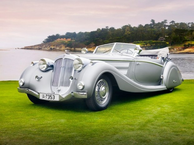 1937 Horch 853 Voll & Ruhrbeck Sport Cabriolet - Front Left Photo