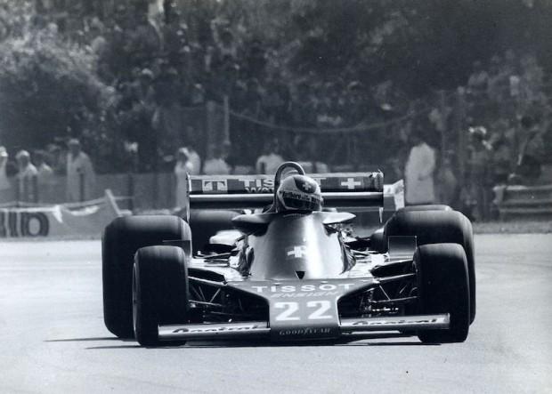 Clay Reggazoni in the Ensign F1