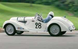 1938 BMW 328 Racing at the Pittsburgh Vintage Grand Prix