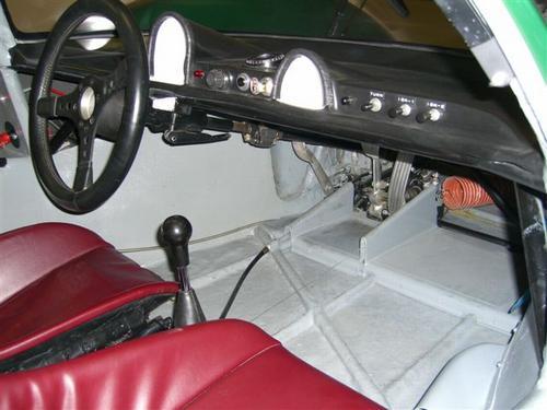 Porsche 906 Interior