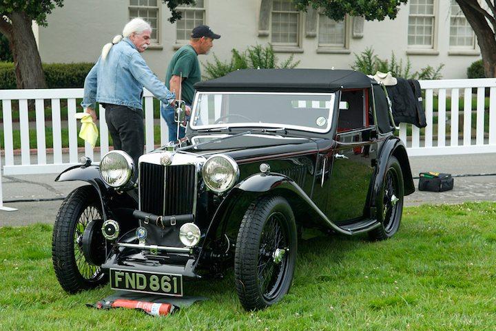 prepping 1939 mg ta tickford sports car digest the. Black Bedroom Furniture Sets. Home Design Ideas