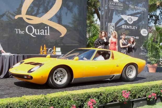 <strong>Super Cars Award </strong> - 1971 Lamborghini Miura SV owned by Enrique Landa