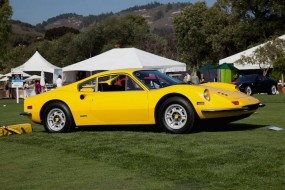 Ferrari Dino 246 at Quail