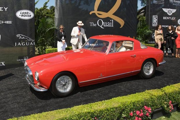 <strong>FIVA Award</strong> - 1953 Ferrari 375 America owned by Muloon