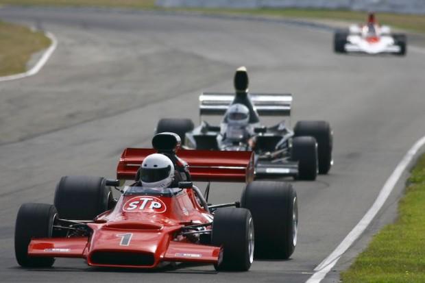 Jay Esterer - McRae GM1 and Lola T332 of Tony Richards