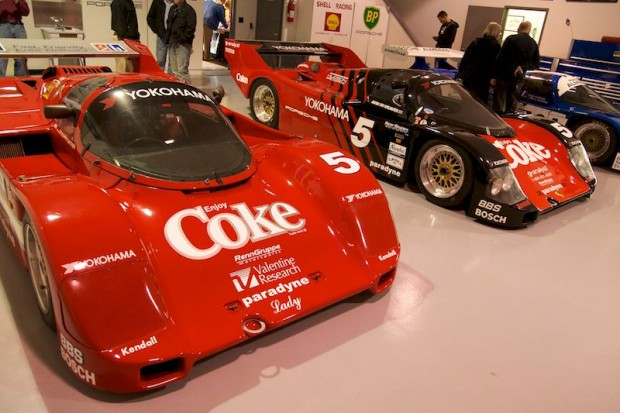 Pair of Coca-Cola Porsche 962s, plus the Almeras Brothers 962C