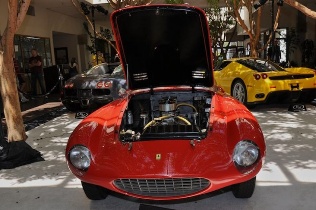 <strong>1953 Ferrari 166MM Spyder Scaglietti – Did not sell at high bid of $1,100,000 versus pre-sale estimate of $1,400,000 - $1,800,000.</strong> Given by Enzo Ferrari to his son Dino for a design project with Scaglietti, it is known as the first Scaglietti-bodied competition Ferrari.