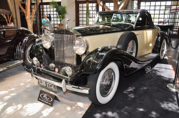 <strong>1937 Rolls-Royce Phantom III Henley Roadster – Sold for $605,000 versus pre-sale estimate of $750,000 - $900,000.</strong> Only Phantom III Henley Roadster ever built.