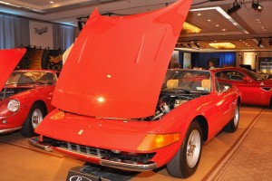 <strong>1973 Ferrari 365 GTB/4 Daytona Spyder – Sold for $880,000 versus pre-sale estimate of $900,000 - $1,100,000.</strong> Formerly owned by NBA great Jerry West.