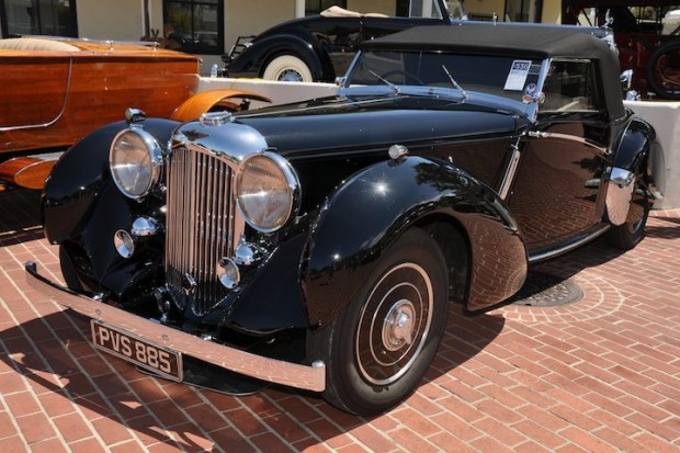 <strong>1939 Lagonda LG6 Rapide – Sold for $632,500 versus pre-sale estimate of $450,000 - $650,000.</strong> One of six built.