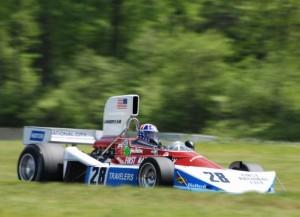 1975 Penske PC-3, ex-John Watson, driven by Doug Mockett