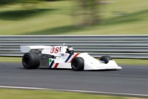 1975 Hesketh 308 B, ex-James Hunt, driven by Divina Galica