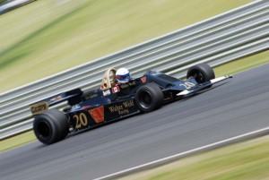 1978 Wolf WR 2/4, ex-Jody Scheckter, driven by John Anderson