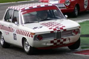 Jackie Oliver and Richard Shaw in the BMW 1800Ti/SA