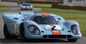 Gulf Oil Porsche 917 will participate in 2009 Salon Prive