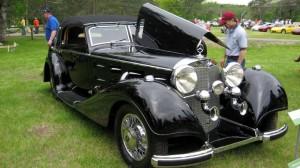 1938 Mercedes 540K Erdman Rossi