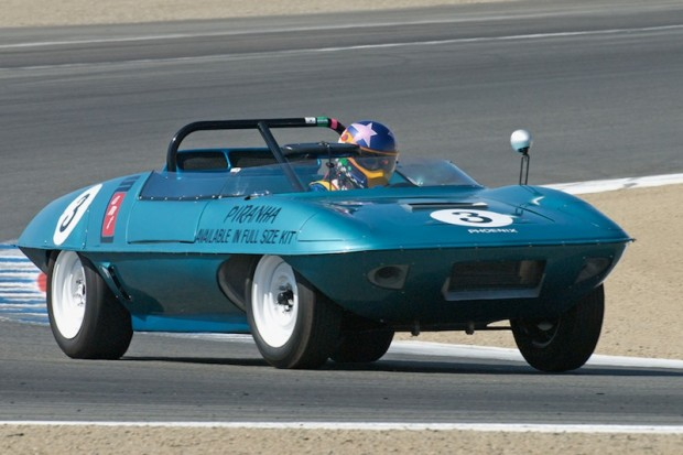 Class winner Frank Zucchi - 1960 Piranha