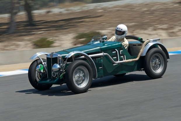 Michael Jacobson - 1951 MG N Magnette Special