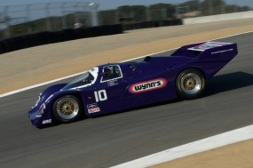 Mark Hotchkis 1986 Porsche 962 turns into the Corkscrew