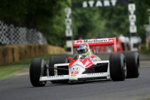 1988 McLaren-Honda MP4/4 Turbo, as driven by Ayrton Senna