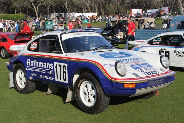 1984 Porsche 911 Type 953 of the Porsche Museum