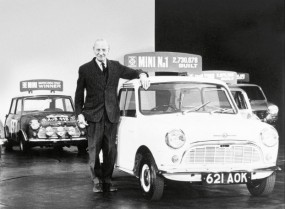 Sir Alec Issigonis created the Mini in 1959, knighted in 1969