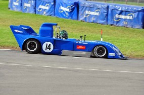 Steve Hodges finished 4th in his Chevron B31