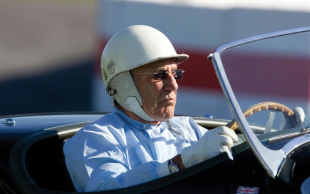 Sir Stirling Moss at Goodwood Revival - © 2008 Michael Cole