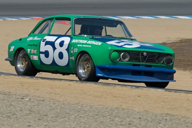 Jon Norman - 1971 Alfa Romeo GTV. Jon has raced this car since new, even in the original Trans-Am series