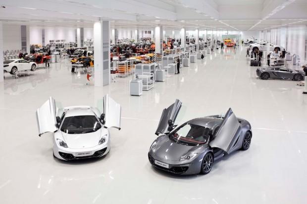 McLaren factory technology center