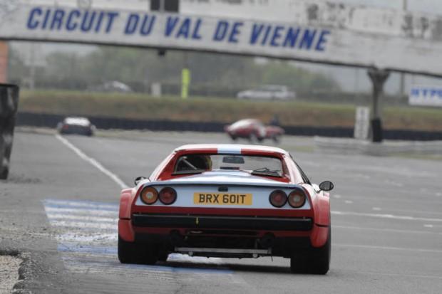 Larry Kinch, Ferrari 308 GTB, Shell Ferrari Historic Challenge