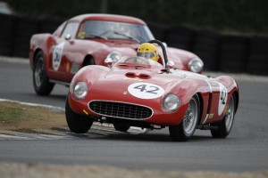 Nicolas Zapata, 1956 Ferrari 625 TR, Shell Ferrari Historic Challenge