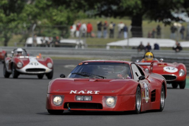 Nicolas Comar, Ferrari 512 BB LM, Shell Ferrari Historic Challenge