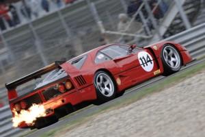 Christian Chavy, 1992 Ferrari F40 LM