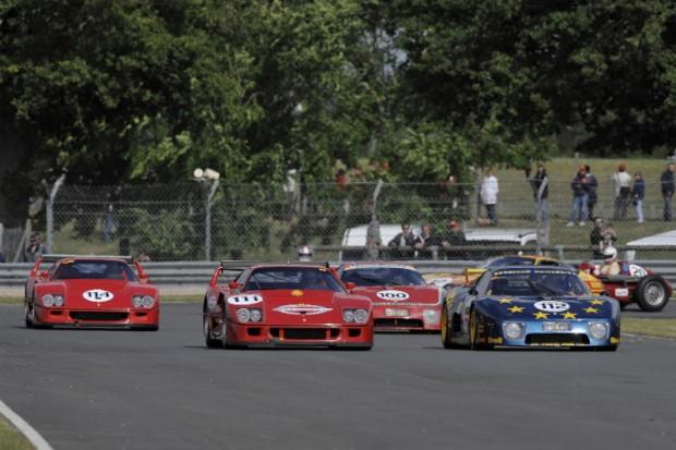 Start of Group B, Shell Ferrari Historic Challenge