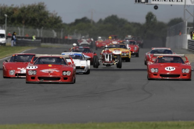 Ferrari F40 LMs Lead Start of Shell Ferrari Historic Challenge