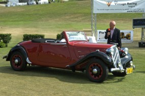 <strong>VeloceToday.com Award for The Most Advanced Production Engineering of its Era, 1938 Traction Avant Convertible 'Challenger', Mark Rodriguez, Foresthill, CA</strong>