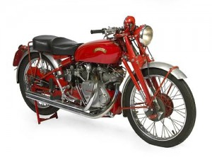 1950 Vincent Series C White Shadow