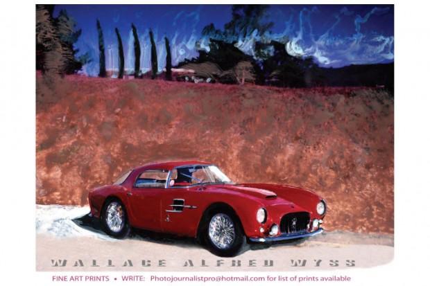 Maserati by Wallace Wyss