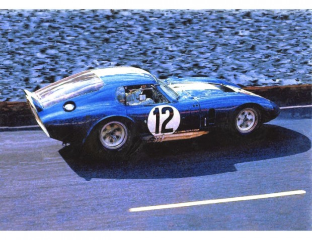 Shelby Daytona Cobra Coupe at Le Mans by Wallace Wyss