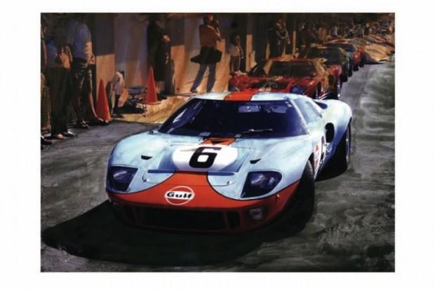 Gulf Oil GT40 by Wallace Wyss