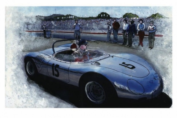 Porsche RSK by Wallace Wyss