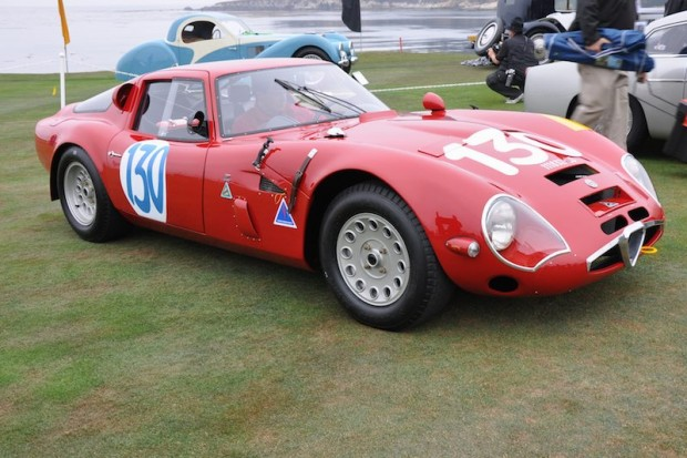 <strong>1965 Alfa Romeo TZ2 Zagato Competition Berlinetta, The William Lyon Family, Newport Beach, CA </strong>