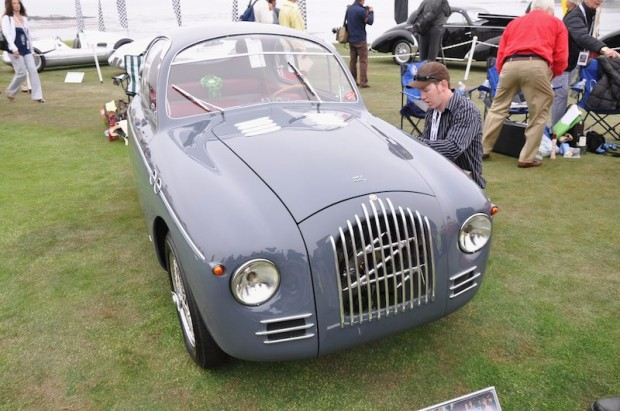 <strong>2nd in class -  1949 Fiat Topolino 750MM Zagato Coupe, Scott and Courtney Gauthier, Scottsdale, AZ</strong>